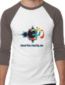 Heed The Fractal Om Men's Baseball ¾ T-Shirt