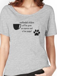 Unattended children Women's Relaxed Fit T-Shirt