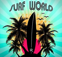 surf world by motiashkar