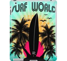 surf world iPad Case/Skin