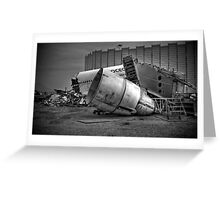 The Big Break Up - HDR Greeting Card