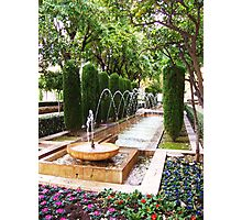 Leaping Fountain - Palma de Mallorca Photographic Print