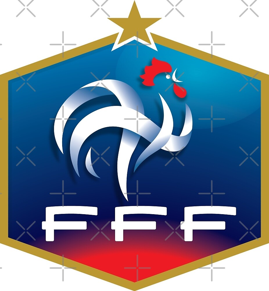Quot French Football Association Emblem Quot By Pattyg4life