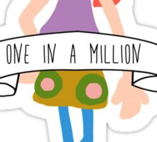 Pepper Ann - One in a Million Sticker