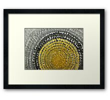 Winter Sun original painting Framed Print