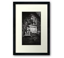 Worship for the Polish Framed Print