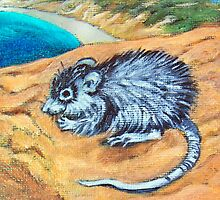 Spirit Animal - Spiny-Haired Rat by Brita Lee