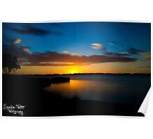Australind Estuary Poster