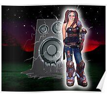 Cyborg Nattie Poster