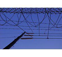 wires Photographic Print
