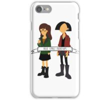 Daria & Jane - Value Female Friendships iPhone Case/Skin