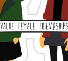 Daria & Jane - Value Female Friendships Sticker