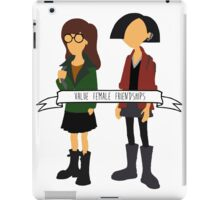 Daria & Jane - Value Female Friendships iPad Case/Skin