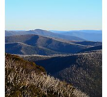 The View from Hotham Photographic Print