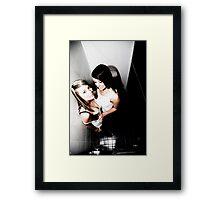 BUST-ED Framed Print