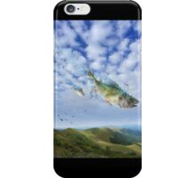 Unexpected arrival iPhone Case/Skin