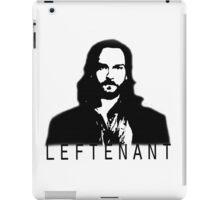 Leftenant iPad Case/Skin