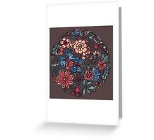 Circle of Friends in Colour Greeting Card