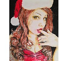 Lady Bella Christmas Beauty by James Patrick Photographic Print