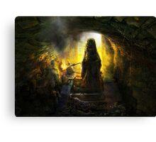Ef Li Touh Canvas Print