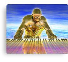 Keyboard Magic Canvas Print