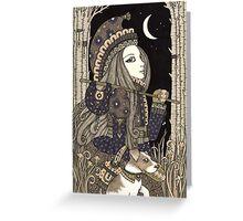 Naivus - The Fool  Greeting Card