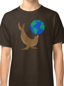Earth Day Sea Lion Classic T-Shirt