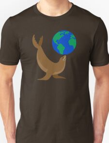 Earth Day Sea Lion T-Shirt