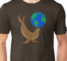 Earth Day Sea Lion Unisex T-Shirt