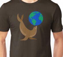 Earth Day Sea Lion Unisex T-Shirt