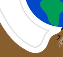 Earth Day Sea Lion Sticker
