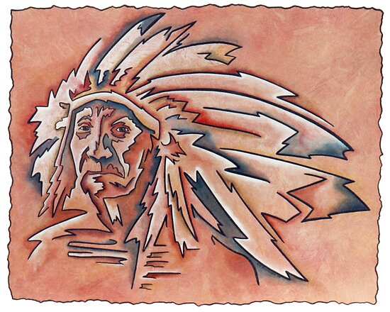 Indian Chief by Rick Borstelman