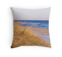 Hither Hills State Park Throw Pillow