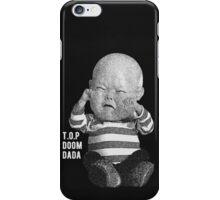 T.O.P (Big Bang) DOOM DADA Baby Phone Case Black & White Ver. iPhone Case/Skin