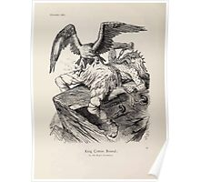 Cartoons by Sir John Tenniel selected from the pages of Punch 1901 0032 King Cotton Bound Poster