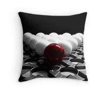 Aba-loner Throw Pillow