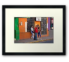Latin Beauties - Argentina Framed Print
