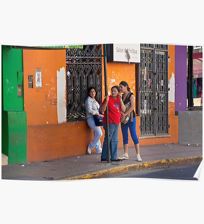 Latin Beauties - Argentina Poster