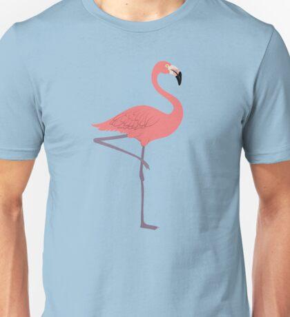 Pink Flamingo Unisex T-Shirt