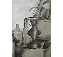 black and white still life Photographic Print
