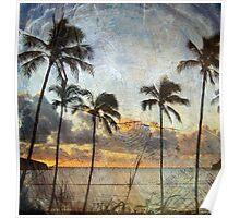 Tropical Dawn Poster