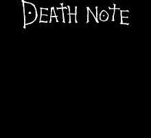 Death Note by Lee Jones