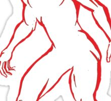 The Red Faun ver. 2 Sticker