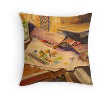 Artist's Sty Throw Pillow