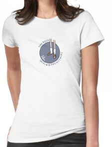 Socks & Birkenstocks Womens Fitted T-Shirt