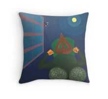 Escaping Relic Fashions Parachute from Leg Material Throw Pillow