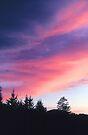 WINTER SUNSET by Chuck Wickham