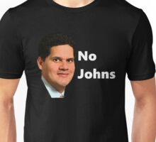 Reggie - No Johns Unisex T-Shirt