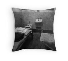 "The Ghosts of Alcatraz ""Al Capone"" Throw Pillow"