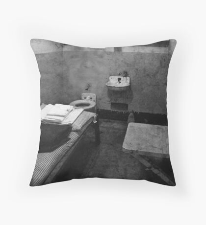 "The Ghosts of Alcatraz ""Al Capone"" Throw Pillow"